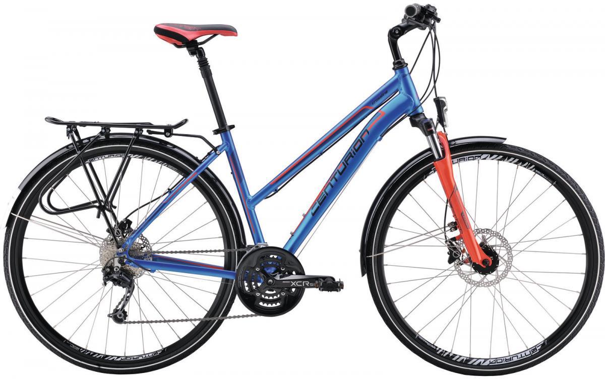 Велосипед городской Centurion Cross Line 80 EQ Women 2016, цвет: синий, рама 18,5, колесо 28264312