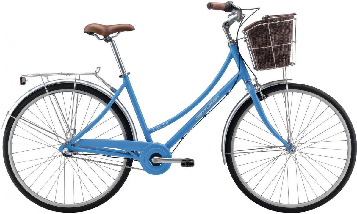 Велосипед городской Centurion City 3.0 2016, цвет: голубой, рама 19, колесо 28264347