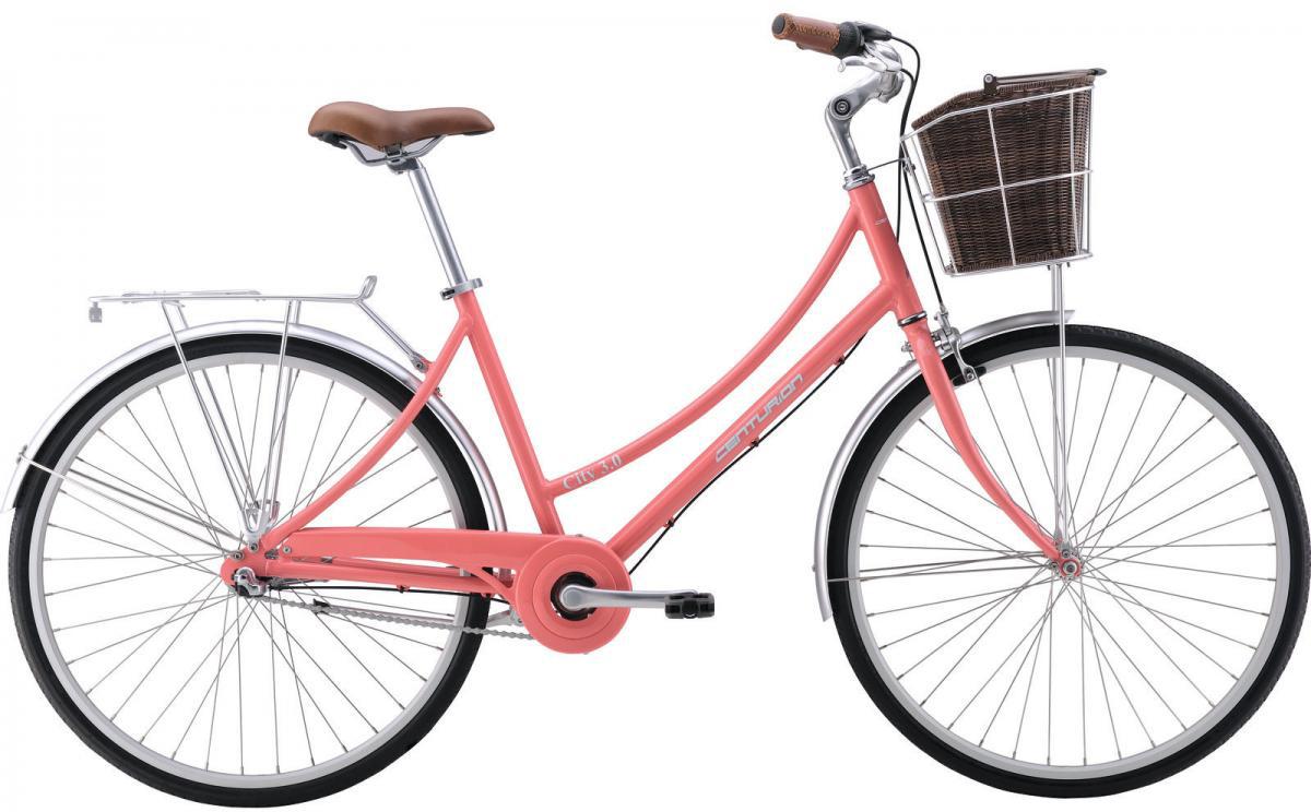 Велосипед городской Centurion City 3.0 2016, цвет: розовый, рама 19, колесо 28264365
