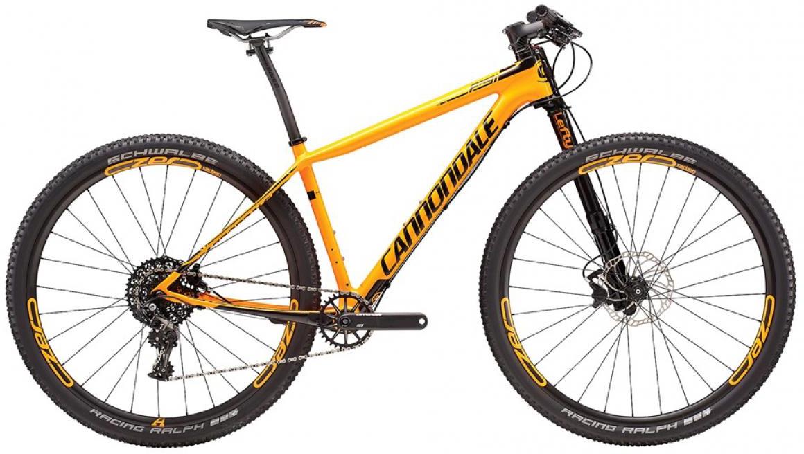 Велосипед горный Cannondale F-Si Carbon 2 2016, цвет: оранжевый, рама 18, колесо 27,5266625