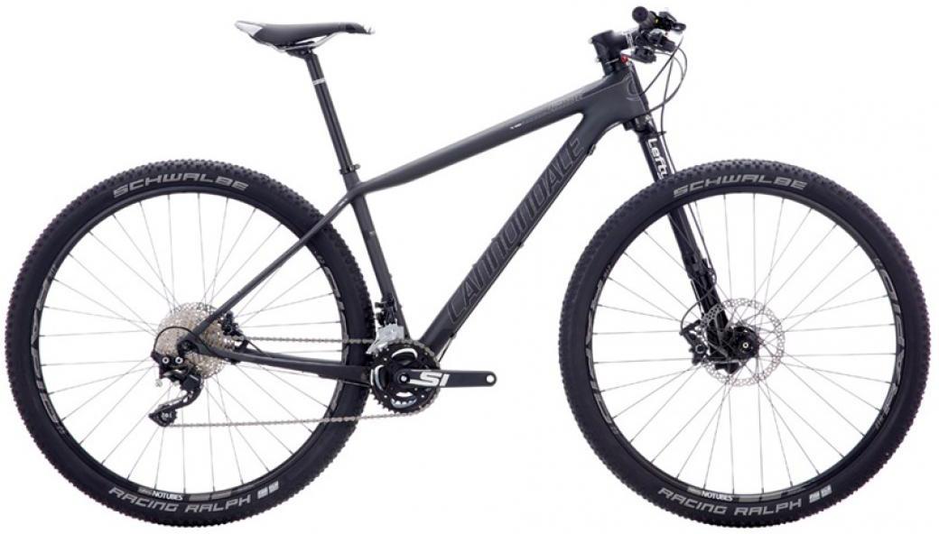 Велосипед горный Cannondale F-Si Carbon 4 2016, цвет: черный, рама 18, колесо 27,5266627