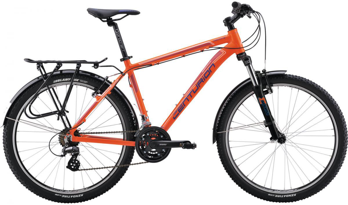 Велосипед горный Centurion Backfire 20 EQ 2016, цвет: оранжевый, рама 20, колесо 26266630