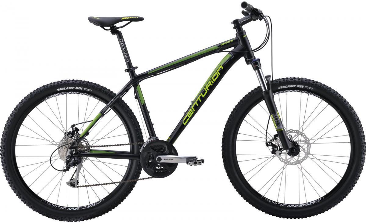 Велосипед горный Centurion Backfire 70 2016, цвет: зеленый, рама 18, колесо 27,5266639