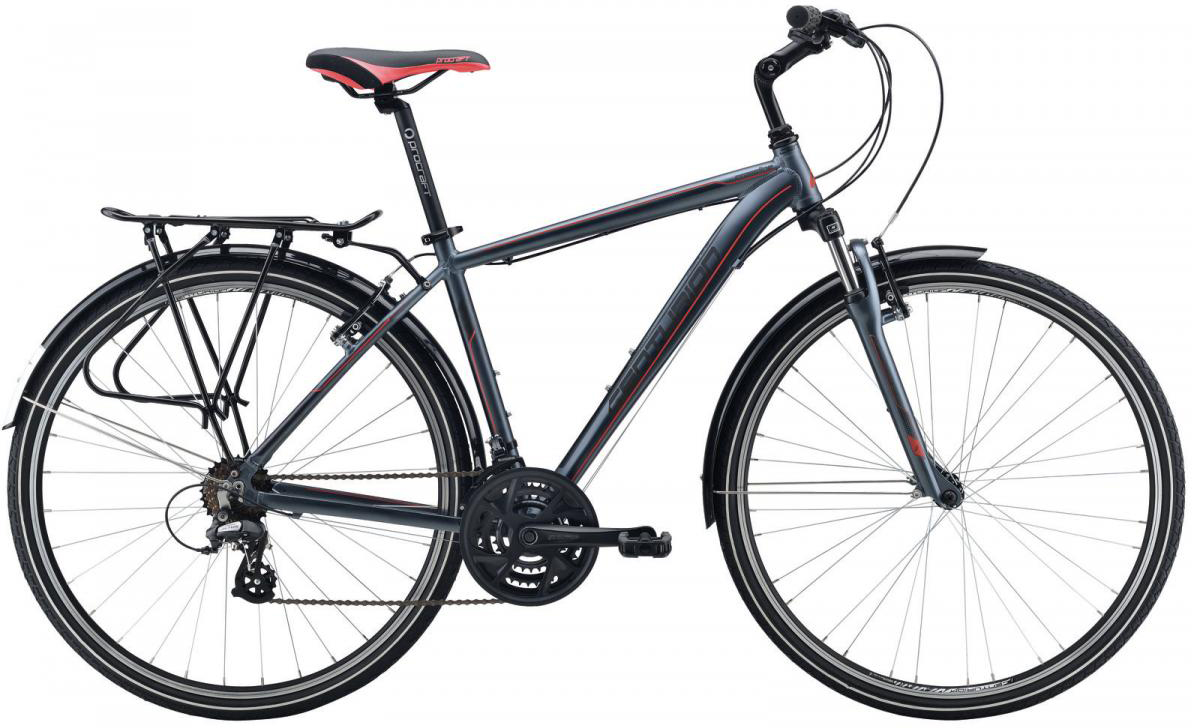 Велосипед городской Centurion Cross Line 20 EQ 2016, цвет: серый, рама 21,5, колесо 28266646