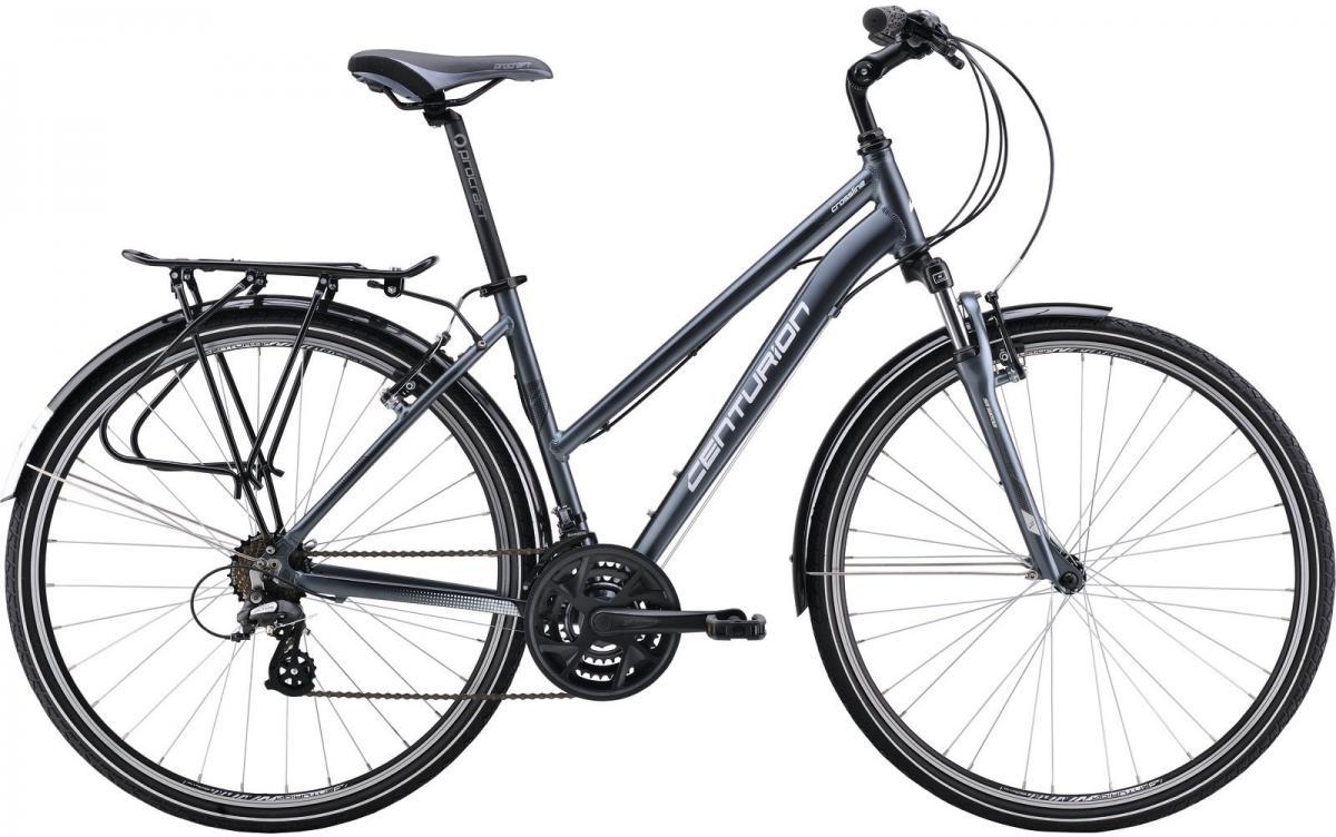 Велосипед городской Centurion Cross Line 20 EQ Women 2016, цвет: серый, рама 18,5, колесо 28266659