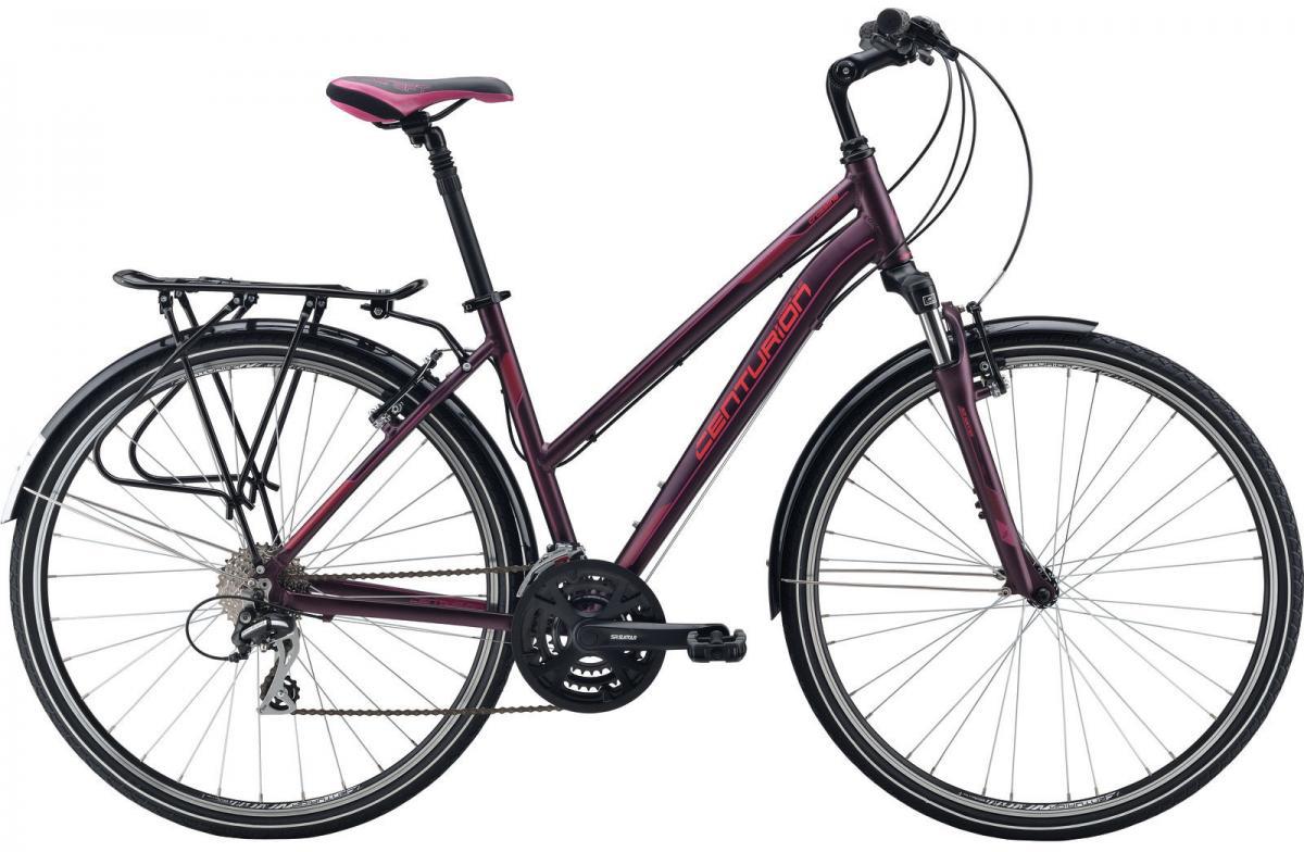 Велосипед городской Centurion Cross Line 40 EQ Women 2016, цвет: фиолетовый, рама 15,5, колесо 28266661