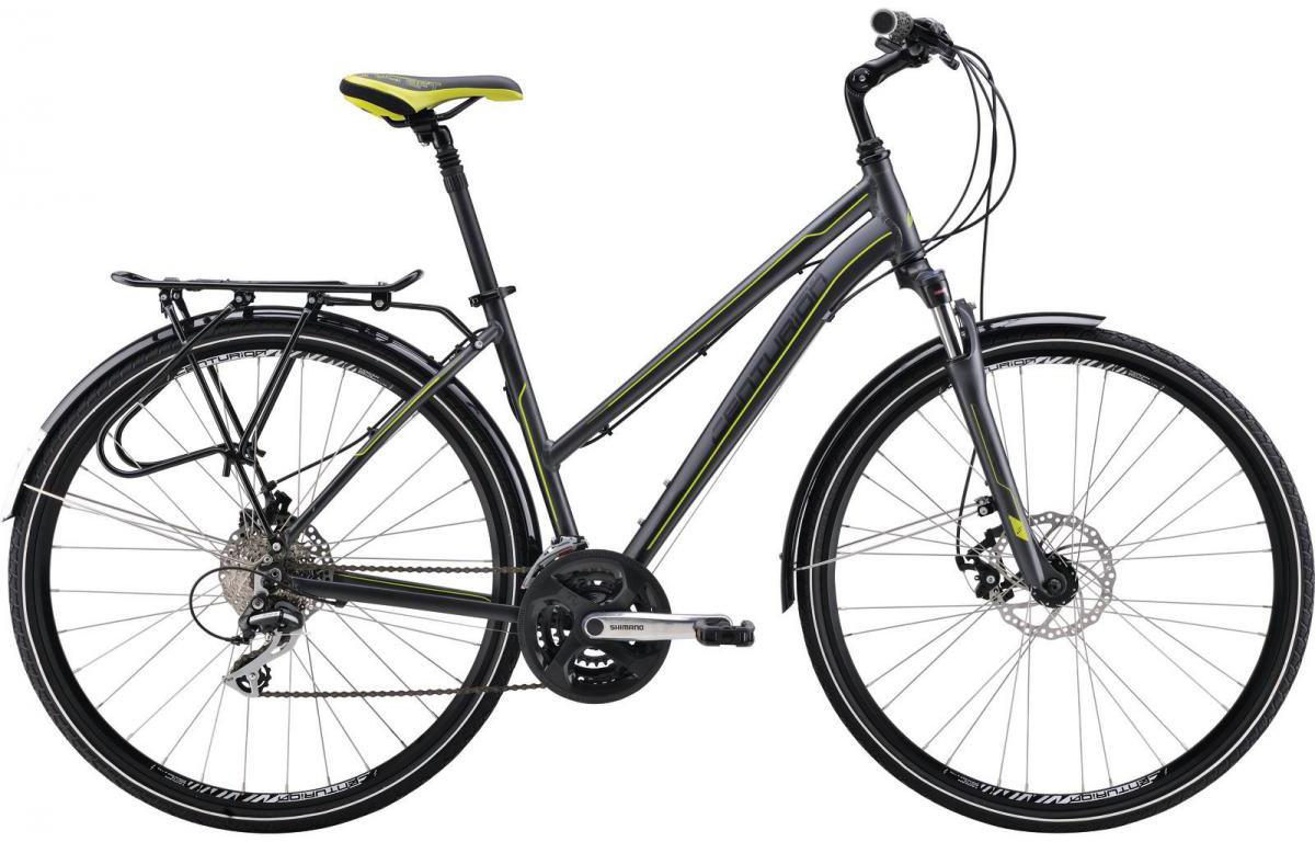 Велосипед городской Centurion Cross Line 50 EQ Women 2016, цвет: черный, рама 18,5, колесо 28266666