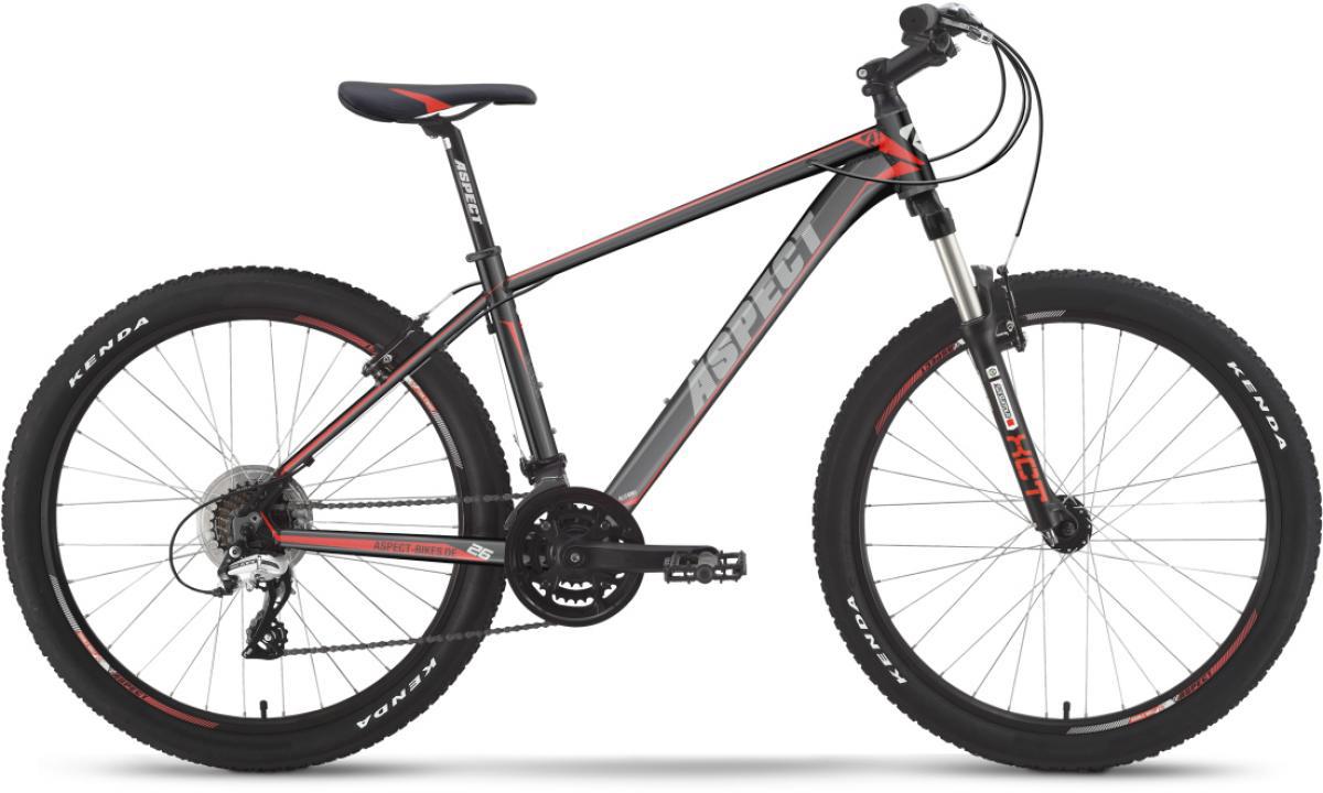 Велосипед горный Aspect Ideal VBR 2016, цвет: серый, рама 20, колесо 26268040