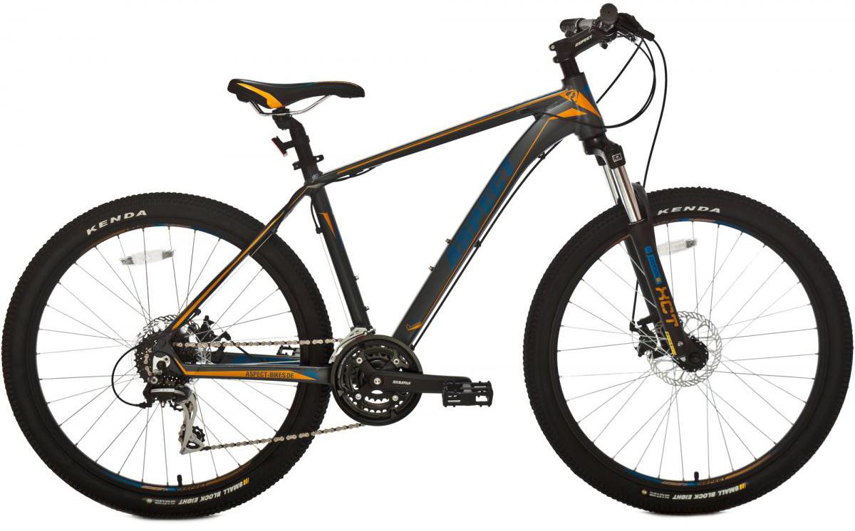 Велосипед горный Aspect Stimul MD 2016, цвет: серый, рама 20, колесо 26268042