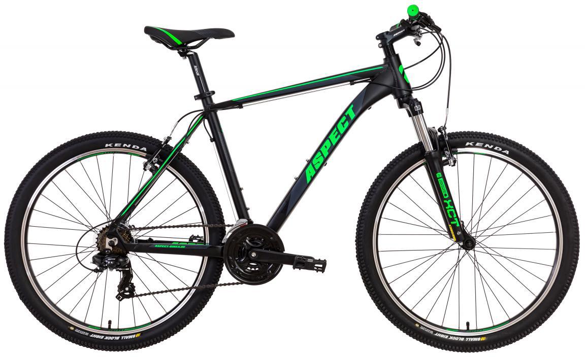 Велосипед горный Aspect Ideal VBR 2017, цвет: черный, рама 16, колесо 26268829
