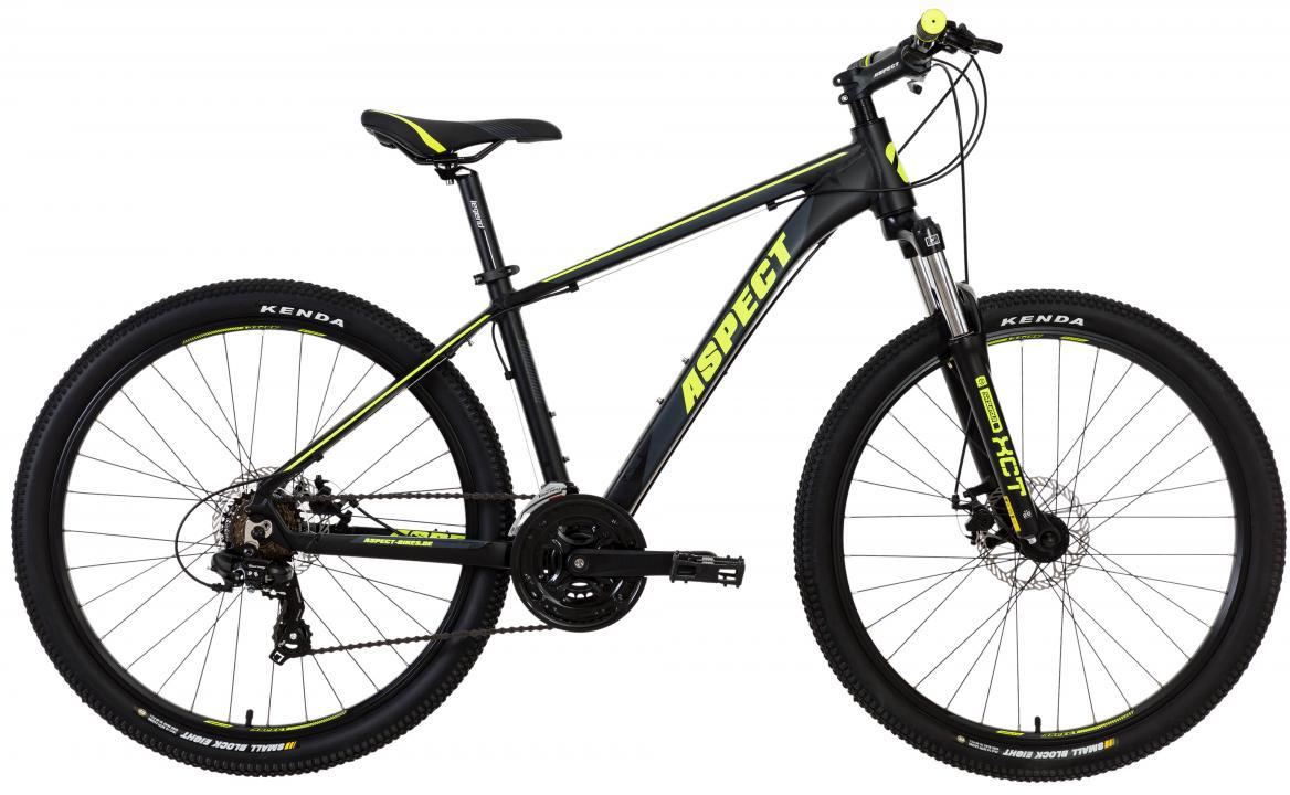 Велосипед горный Aspect Legend 2017, цвет: черный, рама 16, колесо 26268864