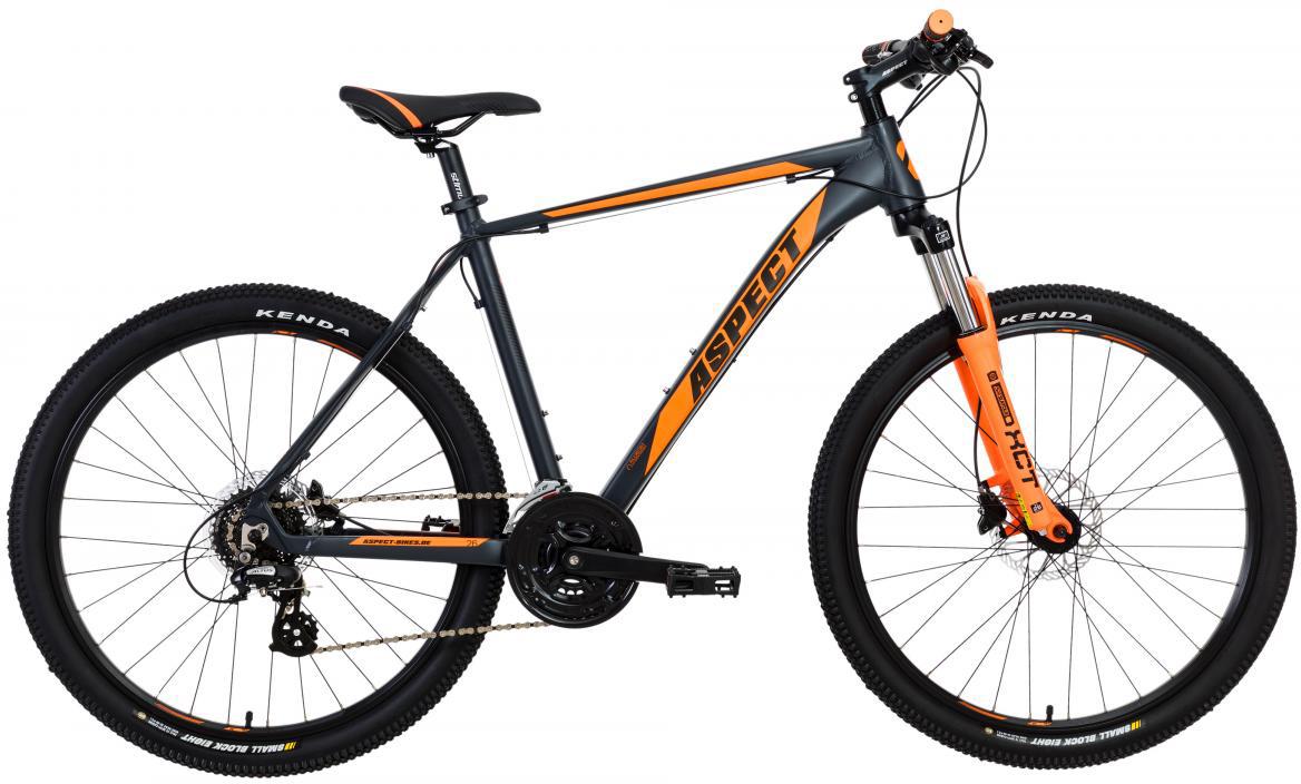 Велосипед горный Aspect Stimul 2017, цвет: серый, рама 20, колесо 26268869