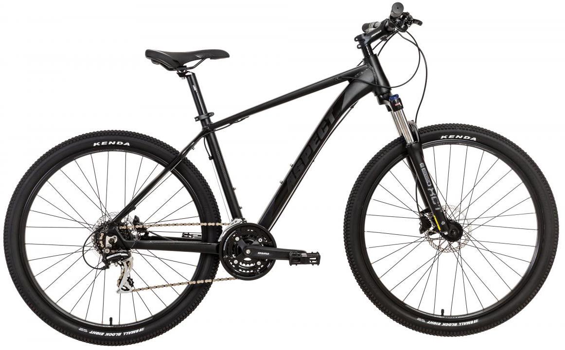 Велосипед горный Aspect Air 2017, цвет: черный, рама 18, колесо 27,5268870