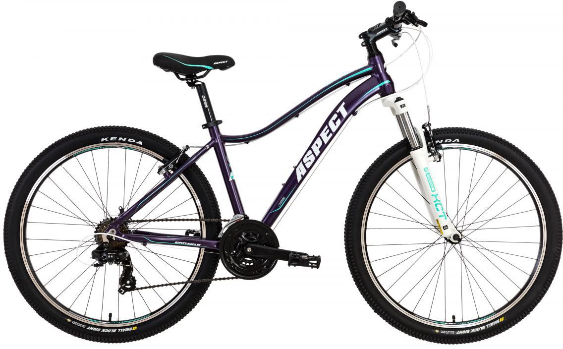 Велосипед женский Aspect Oasis 2017, цвет: фиолетовый, рама 18, колесо 26268875