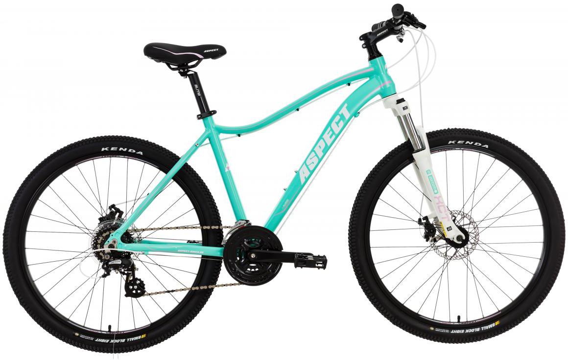 Велосипед женский Aspect Alma 2017, цвет: голубой, рама 16, колесо 26268876