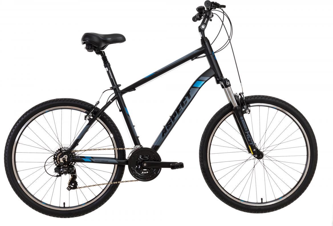 Велосипед городской Aspect Weekend 2017, цвет: черный, рама 18, колесо 26268878