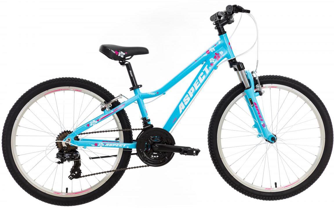 Велосипед детский Aspect Angel 2017, цвет: голубой, колесо 24268884