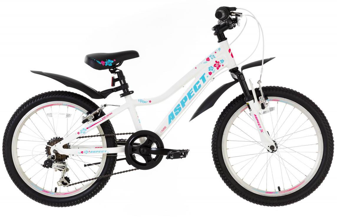 Велосипед детский Aspect Galaxy Girl 2017, цвет: белый, колесо 20268888