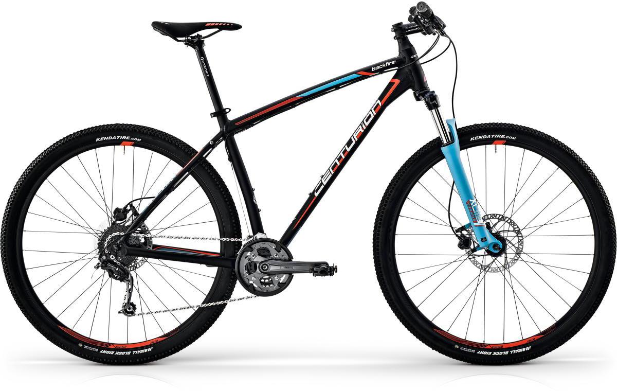 Велосипед горный Centurion Backfire Pro 100 2017, цвет: черный, рама 17, колесо 27,5269863