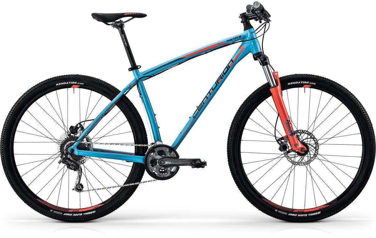 Велосипед горный Centurion Backfire Pro 100 2017, цвет: голубой, рама 15, колесо 27,5269866