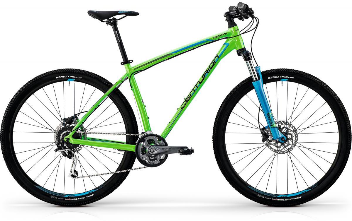 Велосипед горный Centurion Backfire Pro 200 2017, цвет: зеленый, рама 23, колесо 29269900