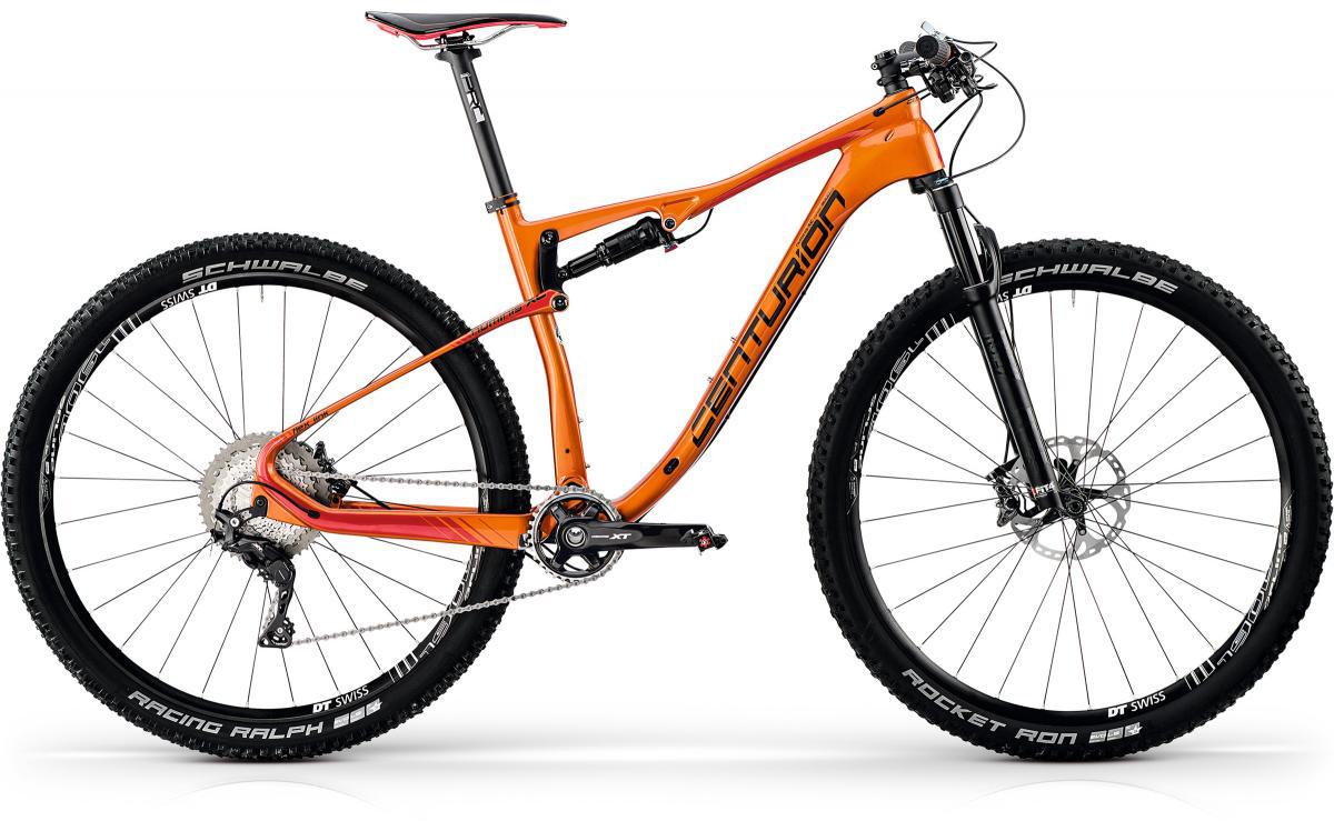 Велосипед горный Centurion Numinis Carbon XC 3000 2017, двухподвесный, цвет: оранжевый, рама 17, колесо 29269949