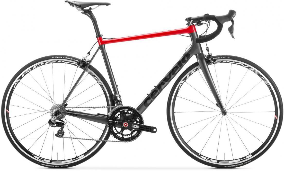 Велосипед шоссейный Cervelo R5 DA Di2 2017, цвет: серый, рама 22, колесо 28277325
