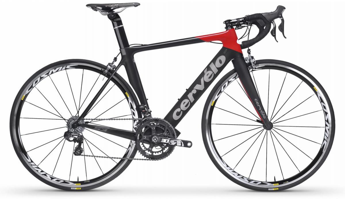Велосипед шоссейный Cervelo S3 Ultegra 2017, цвет: черный, рама 24, колесо 28277459