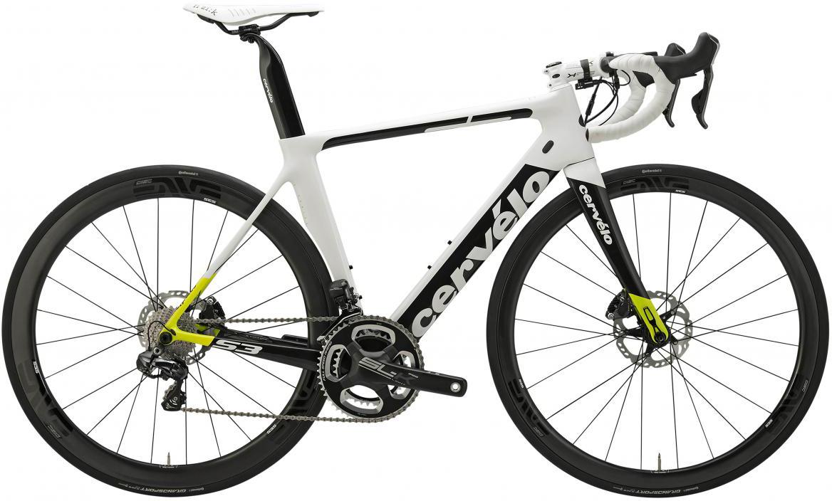 Велосипед шоссейный Cervelo S3 Disc Ultegra Di2 2017, цвет: белый, рама 21, колесо 28277470