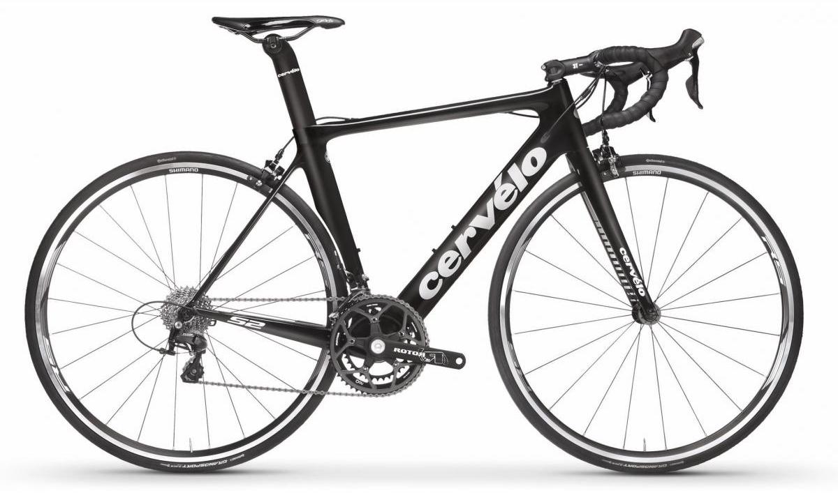 Велосипед шоссейный Cervelo S2 105 2017, цвет: черный, рама 21, колесо 28277500