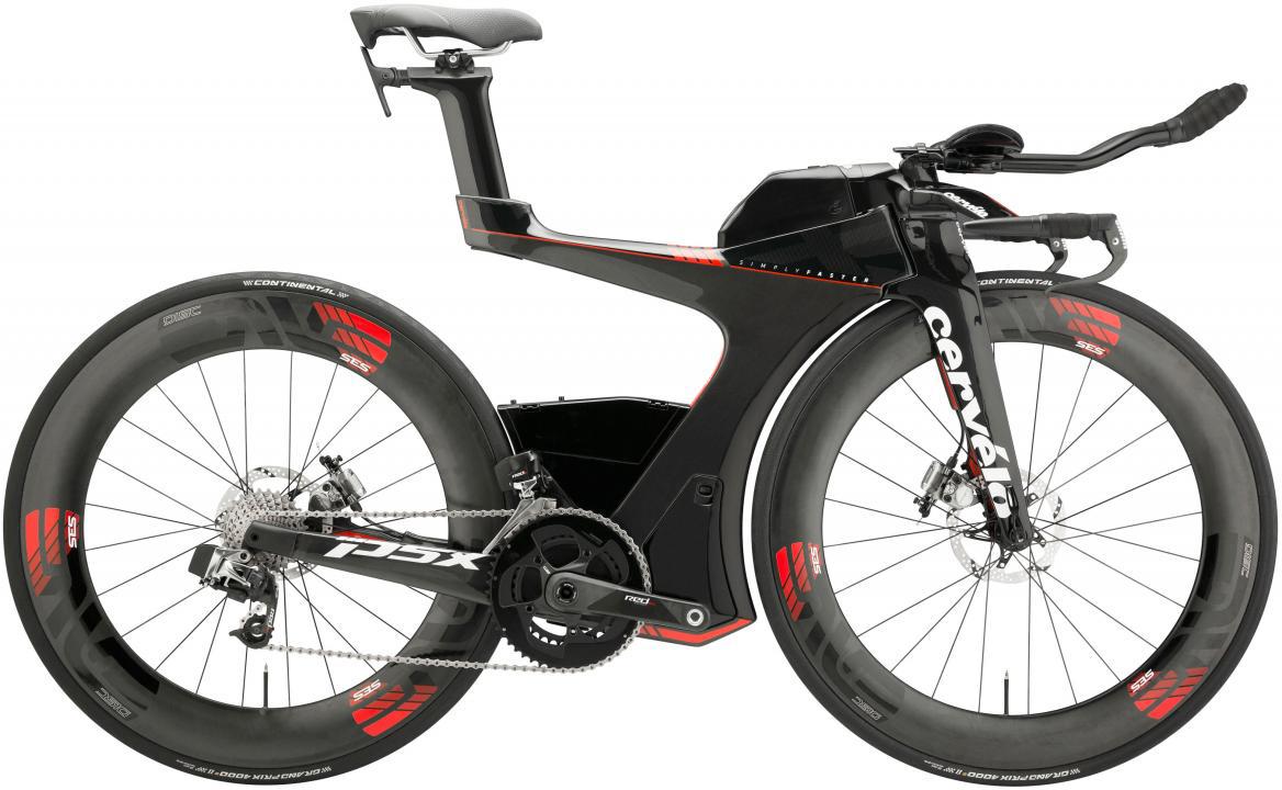 Велосипед шоссейный Cervelo P5 X eTAP 2017, цвет: черный, рама 18, колесо 28277505