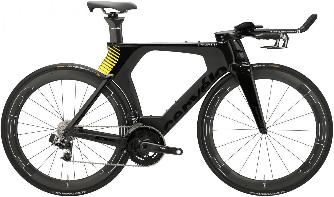 Велосипед шоссейный Cervelo P5 Six DA 2017, цвет: черный, рама 22, колесо 28277538