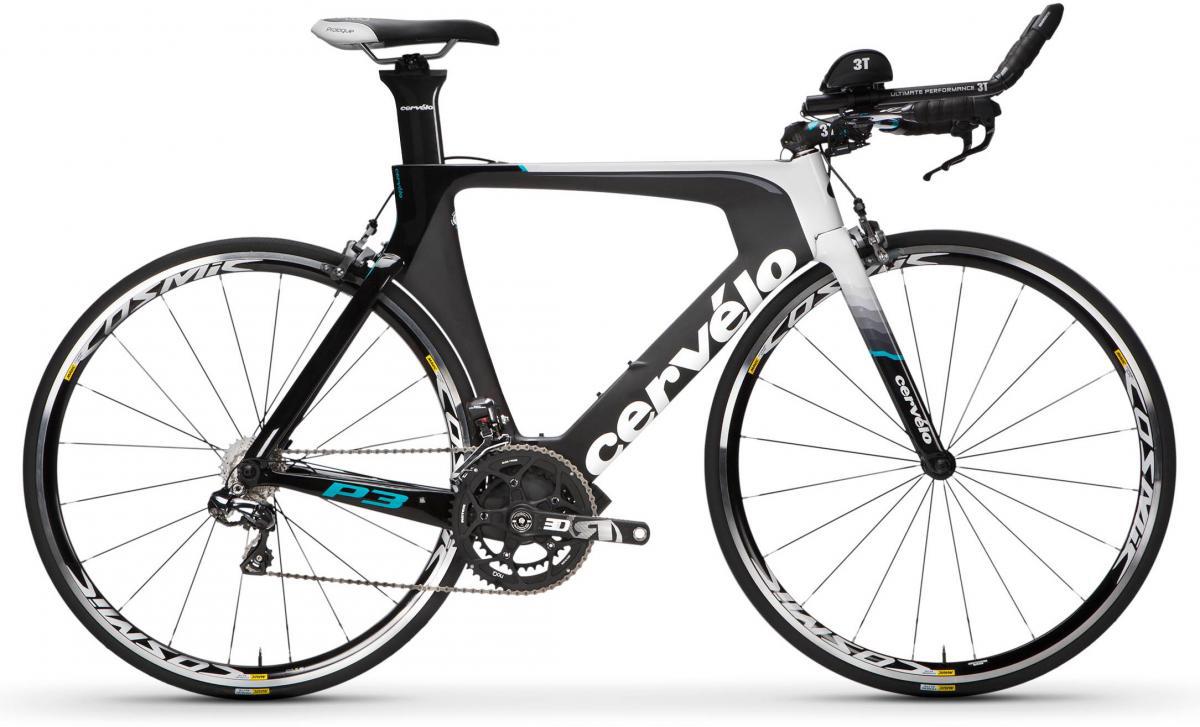 Велосипед шоссейный Cervelo P3 Ultegra Di2 2017, цвет: черный, рама 22, колесо 28277569