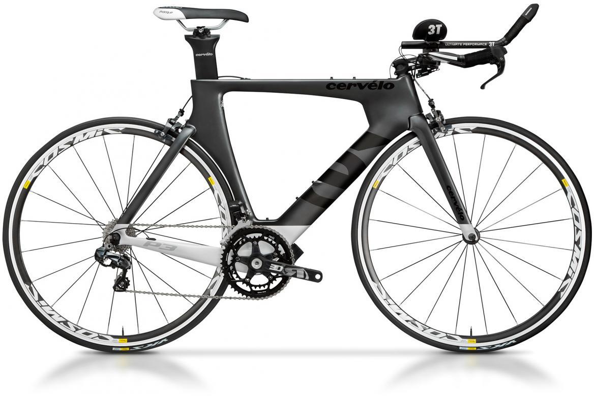 Велосипед шоссейный Cervelo P3 Ultegra Di2 2017, цвет: серый, рама 22, колесо 28277580