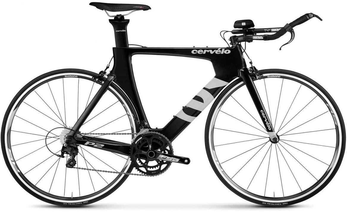 Велосипед шоссейный Cervelo P2 105 2017, цвет: черный, рама 23, колесо 28277623