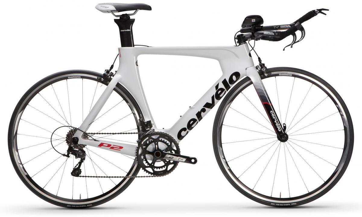 Велосипед шоссейный Cervelo P2 105 2017, цвет: белый, рама 24, колесо 28277634