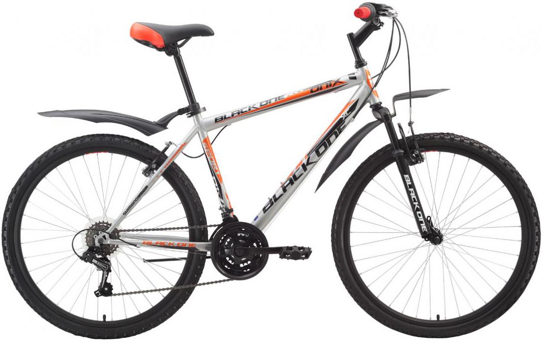 Велосипед горный Black One Onix 2016, цвет: серый, рама 18, колесо 26 велосипед black one element disc рама 18 черно зеленый