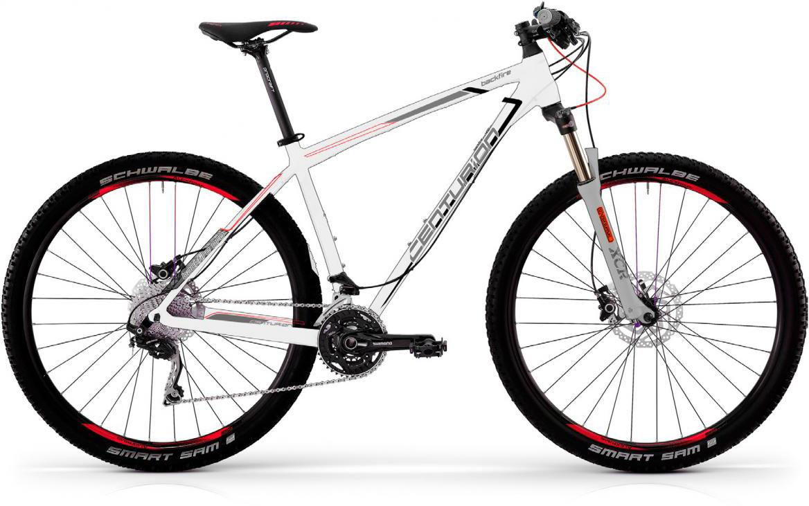 Велосипед горный Centurion Backfire PRO 400 2017, цвет: белый, рама 15, колесо 27,5280478