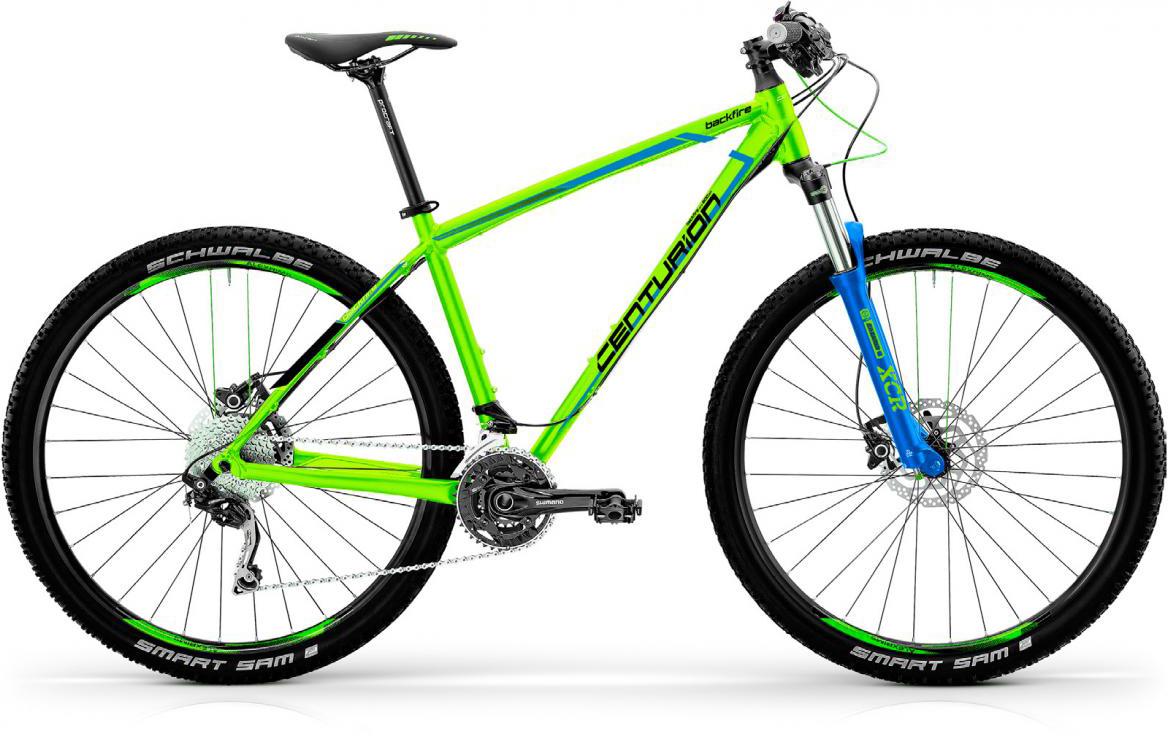 Велосипед горный Centurion Backfire PRO 400 2017, цвет: зеленый, рама 19, колесо 27,5280481