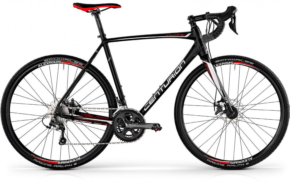 Велосипед шоссейный Centurion Crossfire 2000 2017, цвет: черный, рама 19,5, колесо 28280489