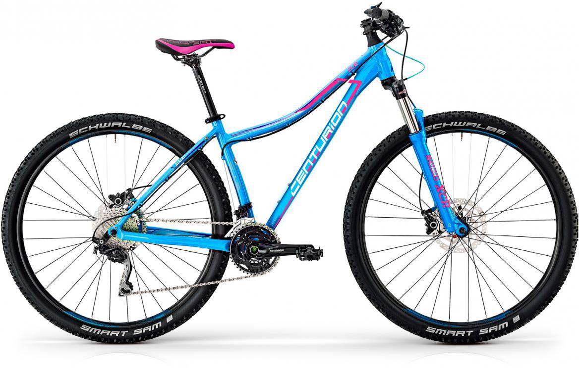 Велосипед горный Centurion Eve Pro 400 2017, цвет: голубой, рама 17, колесо 27,5280497