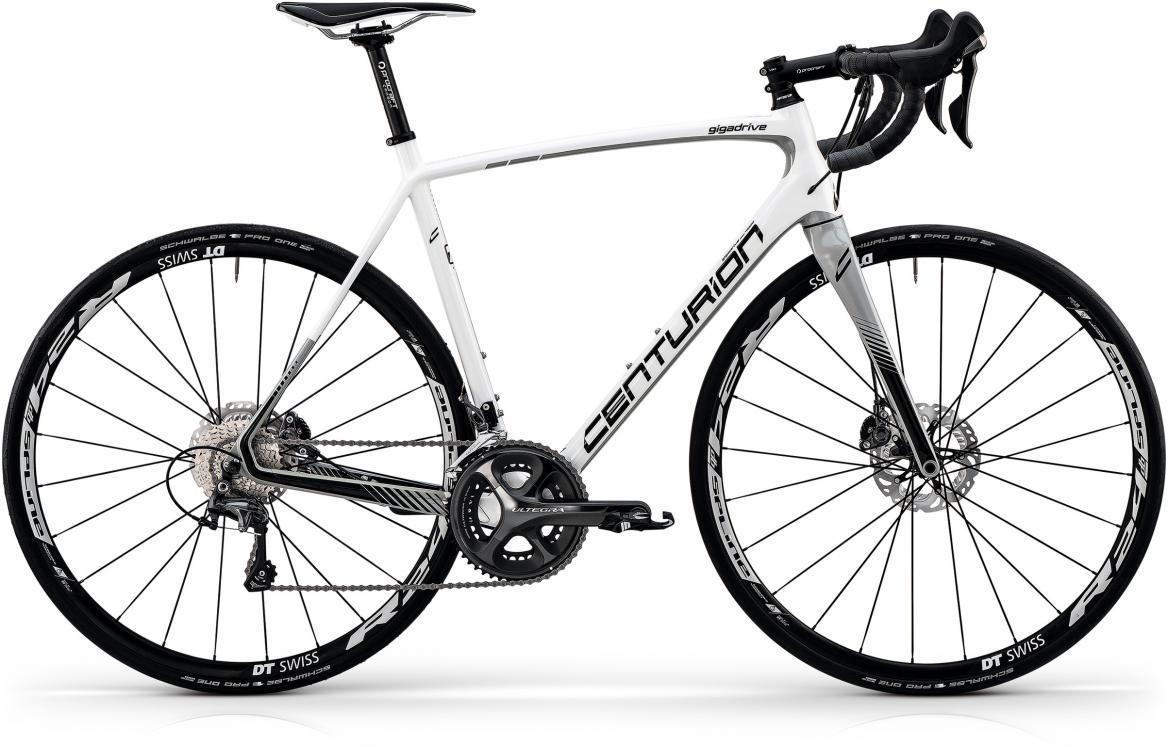 Велосипед шоссейный Centurion Gigadrive Disc 4000 2017, цвет: белый, рама 21, колесо 28280498