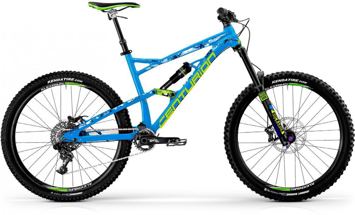 Велосипед горный Centurion Trailbanger 1000 2017, цвет: синий, рама 17, колесо 27,5280992