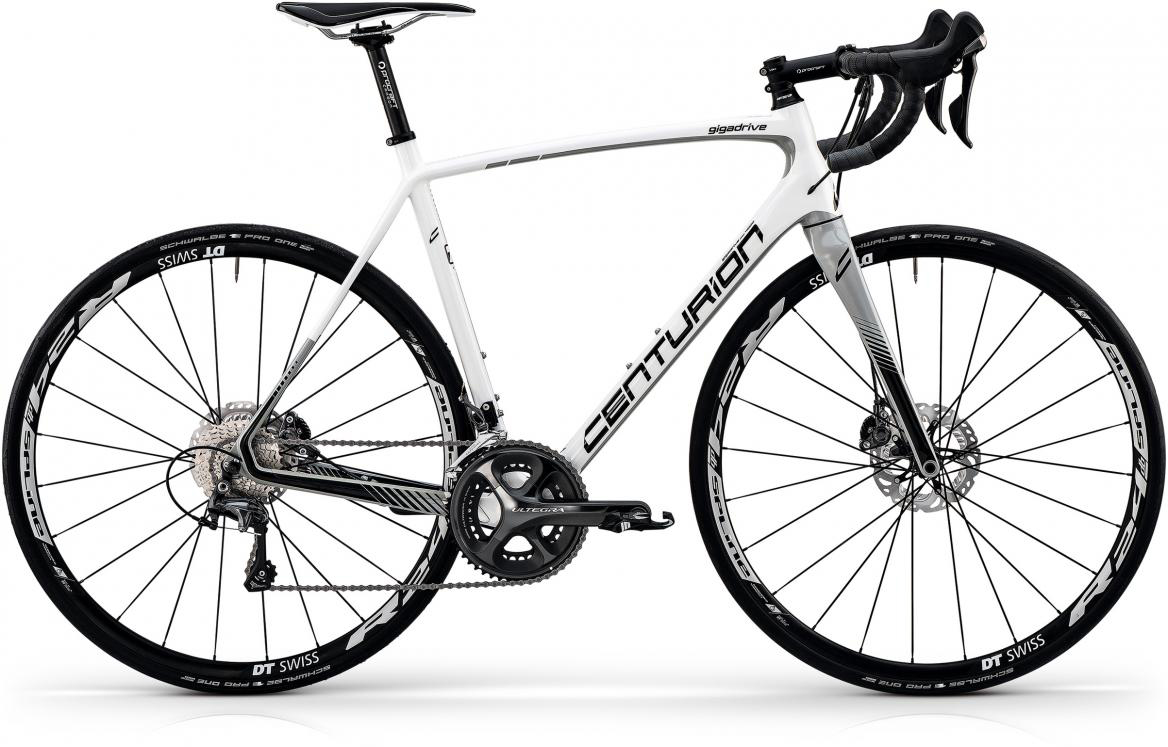 Велосипед шоссейный Centurion Gigadrive Disc 4000 2017, цвет: белый, рама 22, колесо 28281275