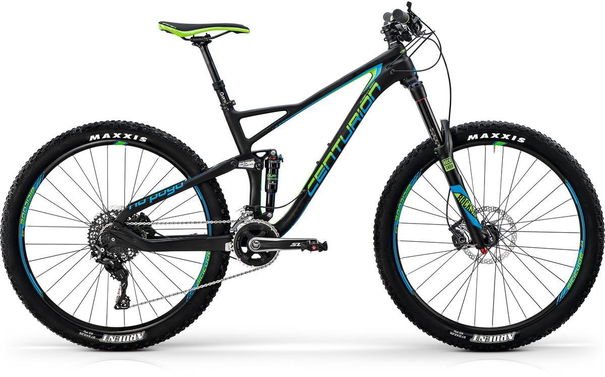 Велосипед горный Centurion No Pogo Carbon 1000 2017, цвет: черный, рама 21, колесо 27,5281279