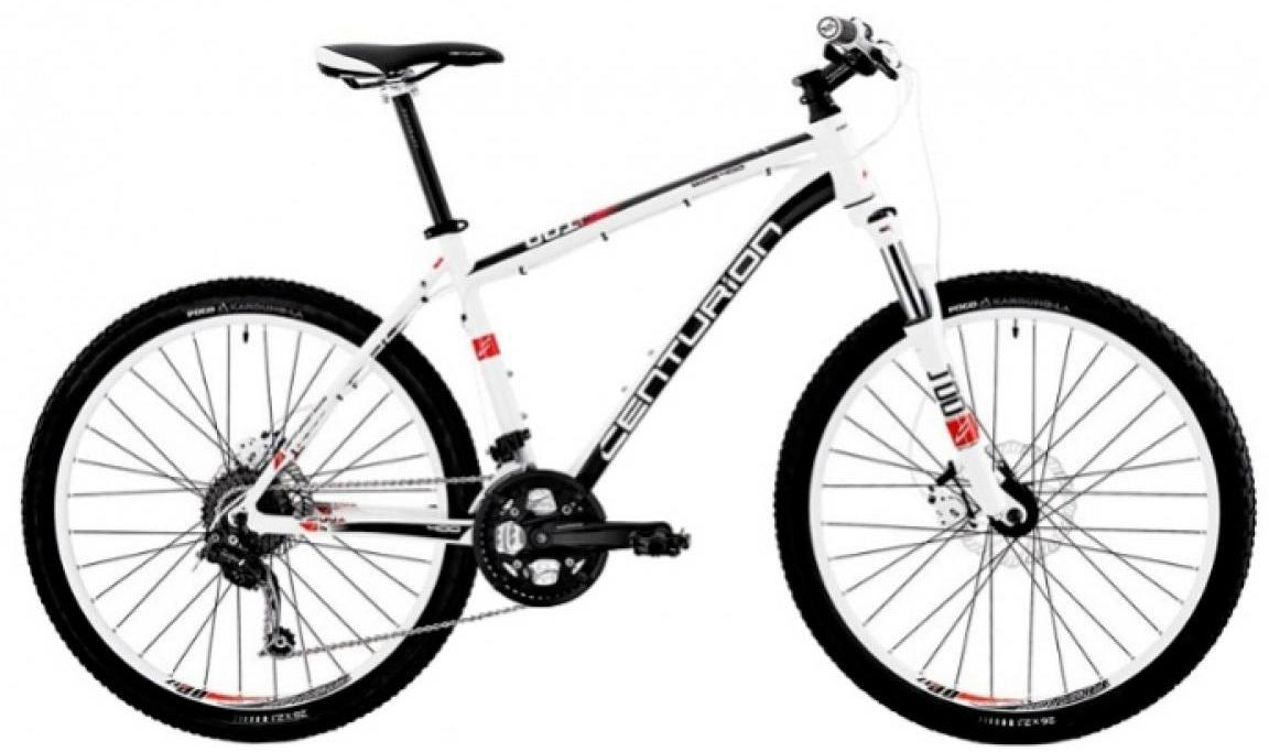 Велосипед горный Centurion Backfire 400 2012, цвет: белый, рама 22, колесо 26283502