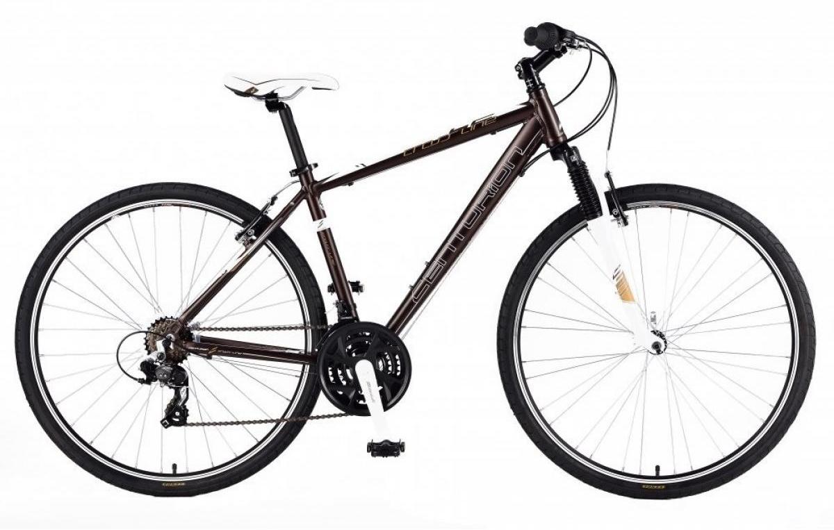 Велосипед городской Centurion Cross 2 2013, цвет: оранжевый, рама 20,5, колесо 28 borneo 2013