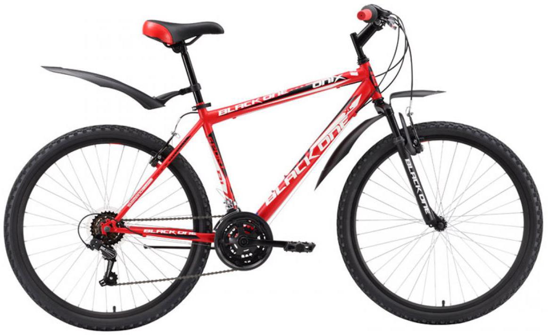 Велосипед горный Black One Onix 2016, цвет: красный, рама 18, колесо 26 велосипед black one element disc рама 18 черно зеленый
