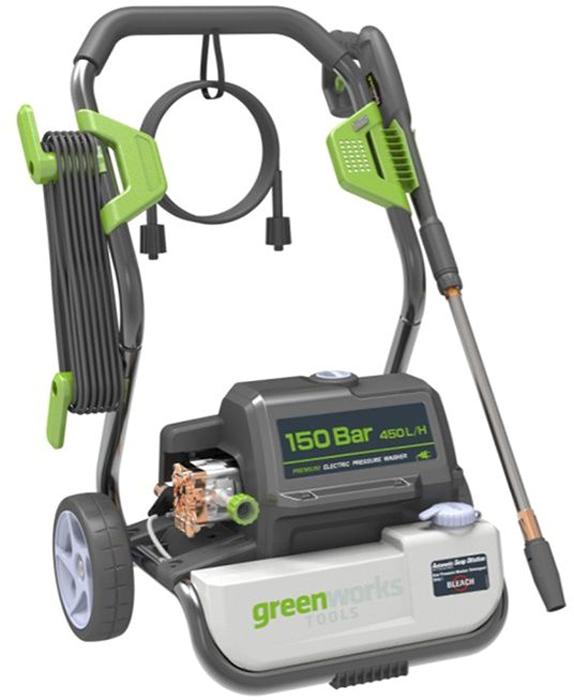 Мойка высокого давления 150 bar Greenworks 5100807