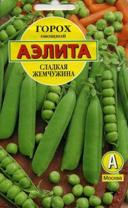 Семена Аэлита Горох овощной. Сладкая жемчужина4601729047107Среднеспелый сорт лущильного гороха, период от полных всходов до технической спелости 65-70 дней. Растения высотой 90-95 см. Бобы зеленые, длинные (10-11 см), содержат 9-10 семян. Горошек мозговой, крупный, в стадии потребительской спелости гладкий, округлый, сочный, сладкого десертного вкуса. Урожайность зеленого горошка высокая – 1,4 кг/кв. м. Рекомендуется для свежего потребления, для использования в повседневной домашней кулинарии, для консервирования (в том числе замораживания). Сорт устойчив к фузариозу. Посев. Перед посевом семена замачивают в воде до набухания. Высевают семена в открытый грунт на глубину 4-6 см. Собирают урожай по мере созревания. Растениям необходимы своевременные поливы, прополки, рыхления. Товар сертифицирован.Уважаемые клиенты! Обращаем ваше внимание на то, что упаковка может иметь несколько видов дизайна. Поставка осуществляется в зависимости от наличия на складе.